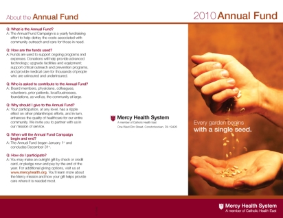 _Annual Fund Brochure 2010_MHS-1