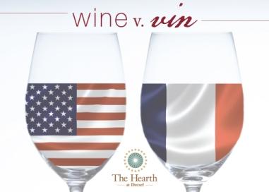 Hearth Wine Tasting postcard